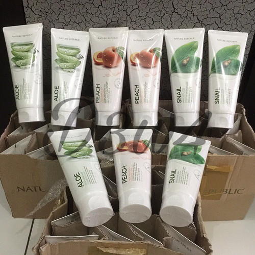 Foto Produk NATURE REPUBLIC - Fresh Herb Cleansing Foam. ori 100% korea dari growie park