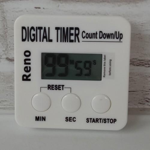 Foto Produk Reno Digital Kitchen Timer - untuk baking / masak. dari warungvitato