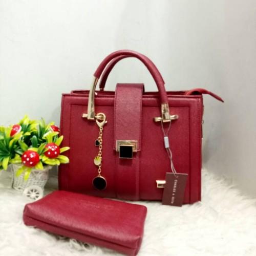 Foto Produk Tas wanita import termurah dan terbaru merah maron dari opikmode