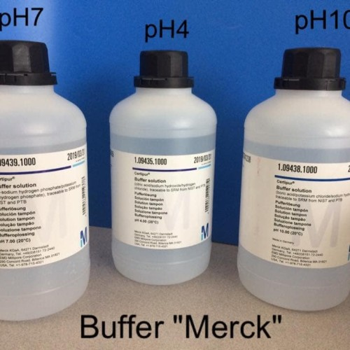 Foto Produk MERCK 109435 Buffer solution pH 4 cap. 1 liter dari CHEMITRA LABINDONUSA