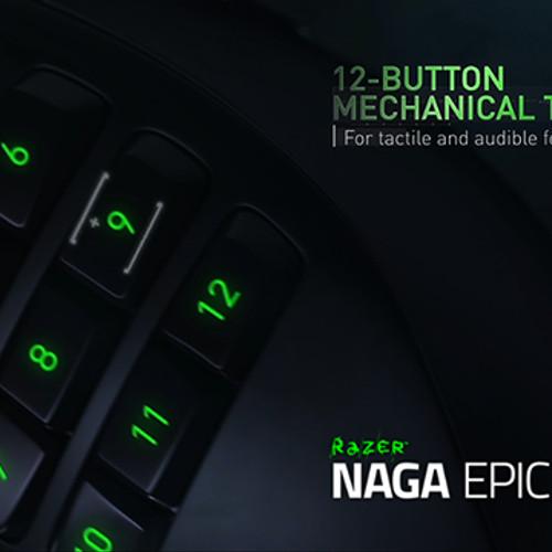 Foto Produk Razer Naga Epic Chroma Wired/Wireless MMO Gaming mouse dari OhaTechStore