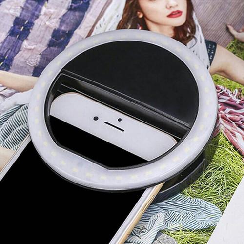 Foto Produk Lampu Selfie Ring Portable 36 LED Flash Light Utk Phone Camera Holder dari MAHKOTAJAYA ABADI