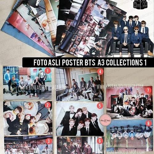 Foto Produk Poster BTS dari Koreanholicshop