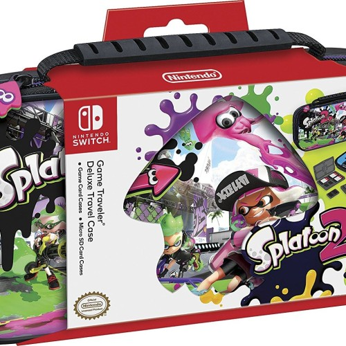 Foto Produk Nintendo Switch RDS Game Traveler Deluxe Travel Case - Splatoon dari Drakuli Games Store