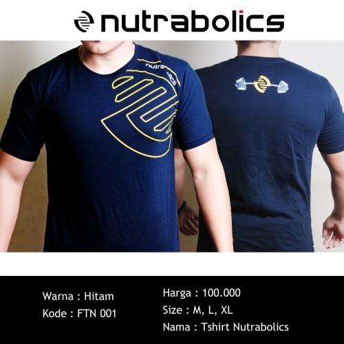 Foto Produk Tshirt Nutrabolic Hitam dari Sport N Fit