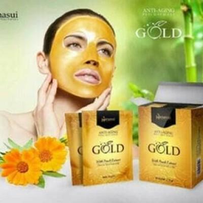 Foto Produk NATURGO MASKER GOLD HANASUI BPOM - MASKER NATURGO GOLD ANTI AGING dari Cenny Store