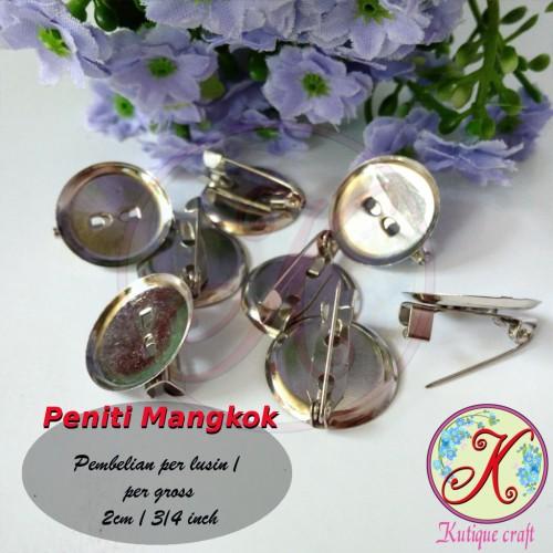 Foto Produk Peniti Mangkok 2cm Grosir dari Kutique Craft