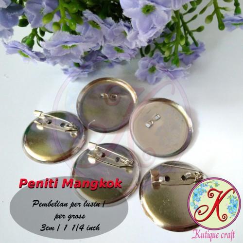 Foto Produk Peniti Mangkok 3cm Lusinan dari Kutique Craft