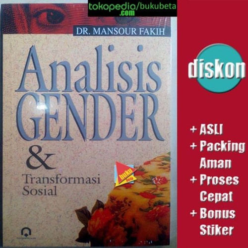 Foto Produk Analisis Gender & Transformasi Sosial - Mansour Fakih dari Buku Beta