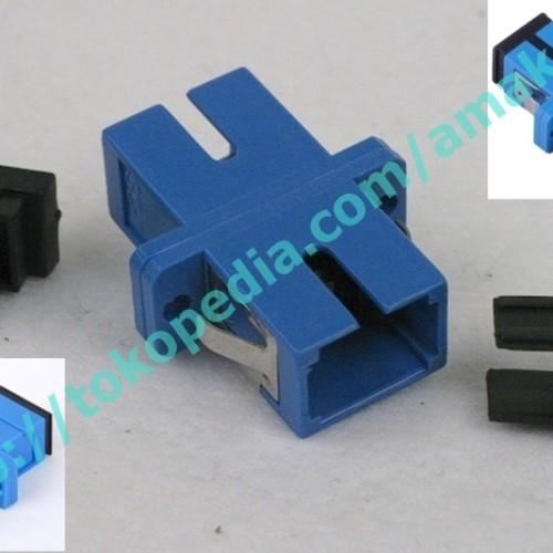 Foto Produk SC/PC SM Simplex Fiber Optical Adaptor dari AMAKOM MEDIA KOMUNIKA