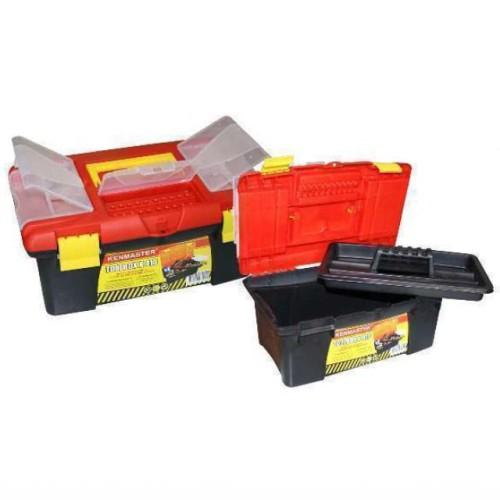 Foto Produk TOOL BOX KENMASTER K-410 / TOOL BOX PLASTIK KENMASTER / TOOL BOX dari Acckomputer