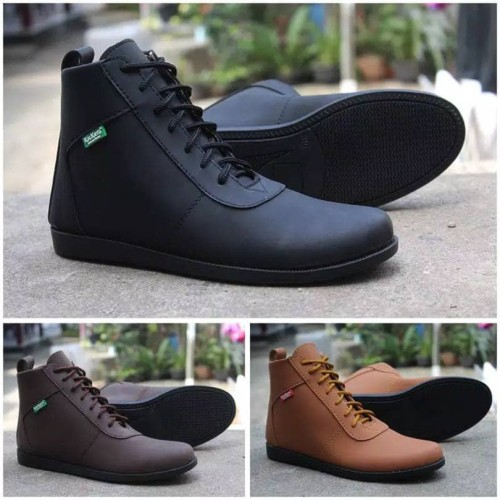 Foto Produk sepatu kickers brodo casual - Hitam dari z1ra shoes
