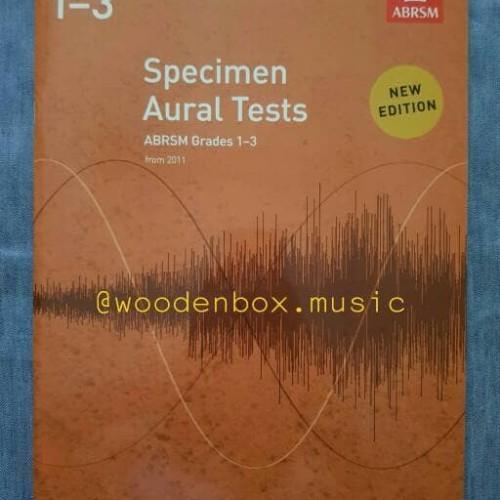Foto Produk Specimen Aural Tests, Grade 1 2 3 ABRSM buku ujian royal dari WoodenBox