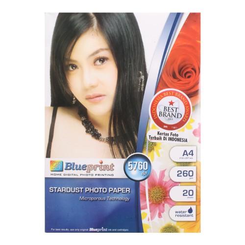Foto Produk Blueprint Stardust Paper (BP-SPA4260) - A4, 20 Sheet, 260 Gsm, Micropo dari Palugada Distribusi