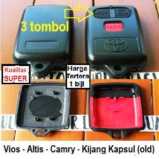 Foto Produk casing rumah remote toyota vios altis camry kijang kapsul old / lama dari Aulia Motor Lubuk Basung