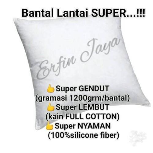 Foto Produk MURAH 2 Bantal Lantai silicon uk 70x70 dari erfin jaya