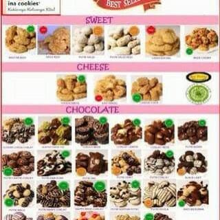 Jual Kue Kering Ina Cookies 500 Gram Jakarta Barat Mery Shop Tokopedia