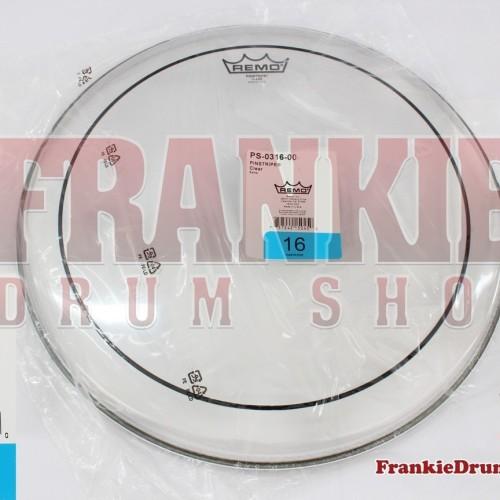 "Foto Produk Remo PS-0316-00 - 16"" Pinstripe Clear Tom Batter DrumHead dari FrankieDrumShop"