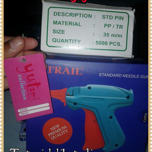 Foto Produk Tag gun + tag pin alat pemasang hangtag dari Raja Cetak