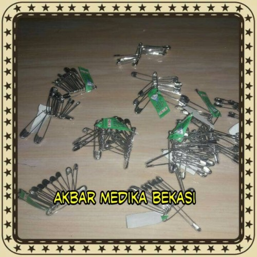 Foto Produk Peniti Swan Bros Klasik Isi 12 Pcs dari Akbar Medika Bekasi