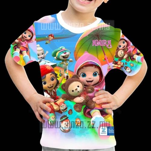 Foto Produk Kaos Anak Rainbow Ruby 2 dari Jinzo Series