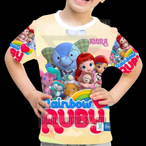 Foto Produk Kaos Anak Rainbow Ruby 1 dari Jinzo Series