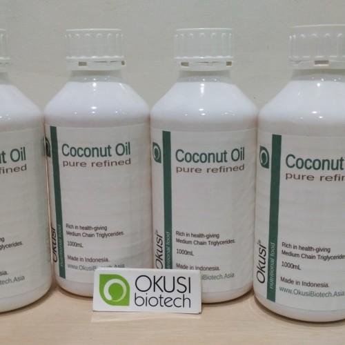 Foto Produk Pure Coconut Oil - Minyak Kelapa Murni - 1 liter dari Okusi Biotech