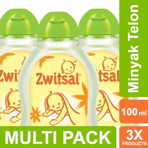 Foto Produk Zwitsal Baby Natural Minyak Telon - 100ml Multi Pack dari Unilever Official Store