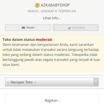Foto Produk Perhatian Untuk Pelanggan AZKABABYSHOP dari Azkababyshop 2