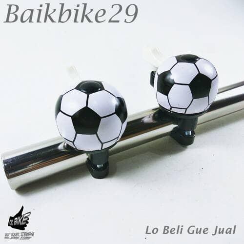 Foto Produk Bel Sepeda Bola Mini Nyaring Bunyinya dari baikbike29