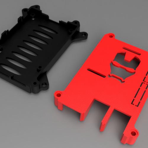 Foto Produk Raspberry Pi 2 Case/ Raspberry Pi 3 Case Ironman Head dari BIKIN3D