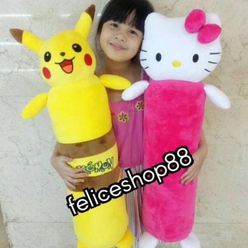 Foto Produk guling boneka pokemon atau hello kitty dari feliceshop88