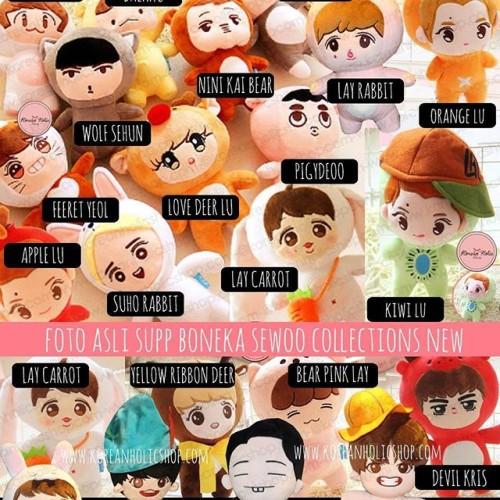 Foto Produk Boneka exo doll permember dari Koreanholicshop