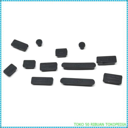 Foto Produk Silicone Notebook / penutup lobang laptop Dust Plug - Black i1426 dari TOKO 50 ribuan