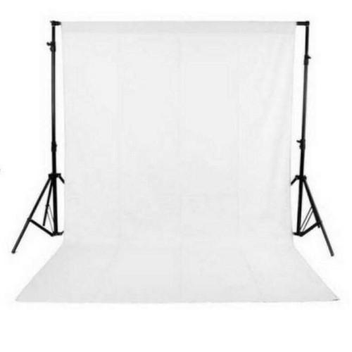 Foto Produk background foto putih, bahan kaos 2.5 x 3 meter dari lapakamera