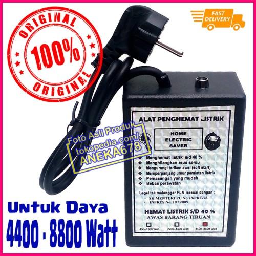 Foto Produk ALAT PENGHEMAT LISTRIK HOME ELECTRIC SAVER ORIGINAL 4400 - 8800 WATT dari ANEKA 678