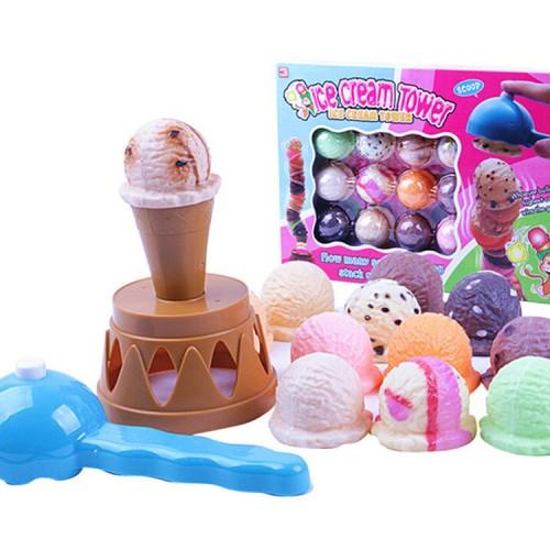 Foto Produk Ice Cream Tower Es Krim 778 Mainan Anak Murah dari Toko-Ku by FAS-TOP