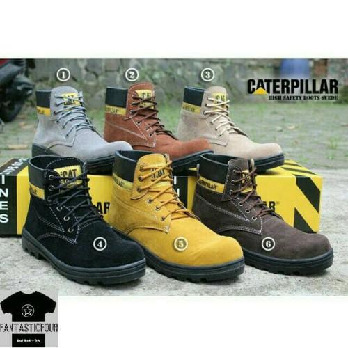 Foto Produk Sepatu Boots Caterpillar - Abu-abu Muda, 41 dari FANTASTIC4STORE
