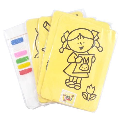 Foto Produk Mainan kertas Mewarnai Dengan Pasir Warna. Mainan Edukasi Edukatif dari Sportsite