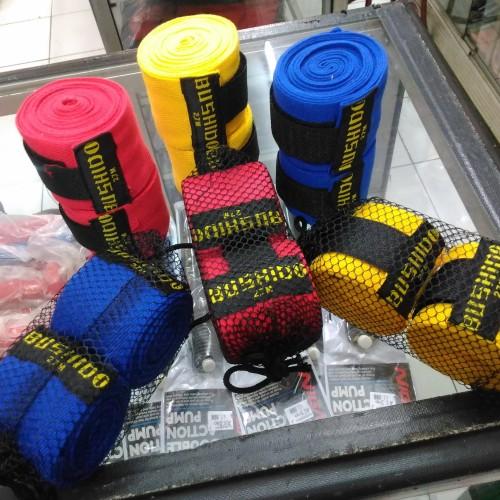 Foto Produk Hand Wrap / Bandage Boxing MMA Muay Thai Murah BUSHIDO dari kinantisport