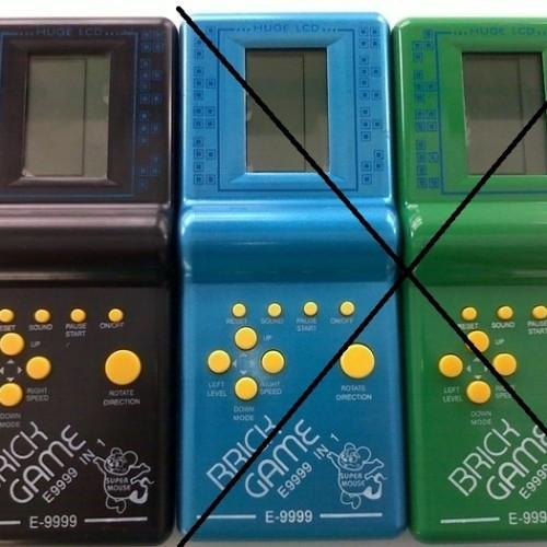 Foto Produk Brick Game 9999 in 1/ TETRIS/ Mainan Anak Murah Meriah/ GIMBOT dari Twinzshop grosir