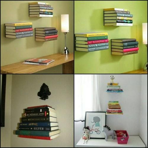 Foto Produk supplier rak buku melayang (rbtk) dari Adorabella Shop