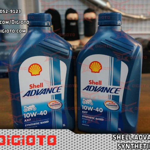 Foto Produk Shell Advance AX7 Synthetic Based 10W-40 1L dari KagedStore
