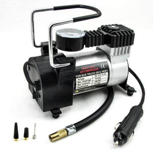 Foto Produk Kompresor Pompa Angin Ban Mobil Heavy Duty Air Compressor Real 150PSI dari lbagstore