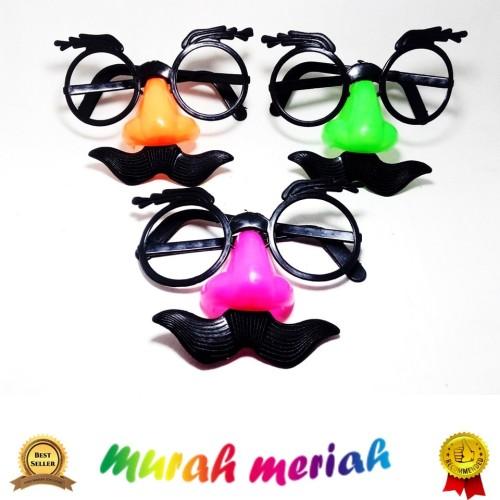 Foto Produk Kaca Mata Kumis Hidung Badut Mainan Anak Lucu dari toko mainan toys store