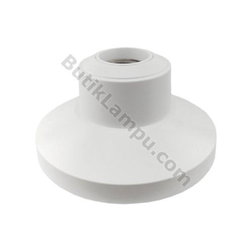 Foto Produk Fitting Plafon Broco Lux 12101 Fitting Lampu Plapon Putih dari butiklampu