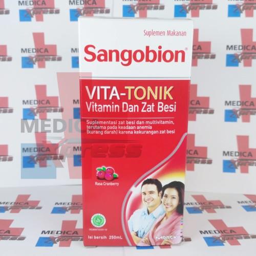 Foto Produk SANGOBION VITA-TONIK 250 ML  dari Medica Xpress