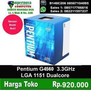 Foto Produk Processor Intel Pentium G4560 3.5GHz LGA 1151 dari Supernova Computer Ariet