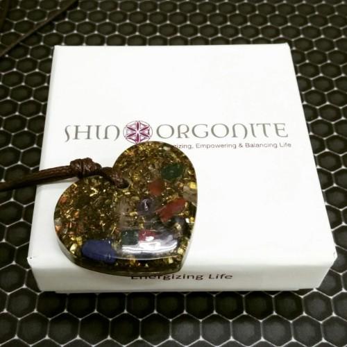 Foto Produk Kalung / Pendant Love Orgonite dari shinorgonite