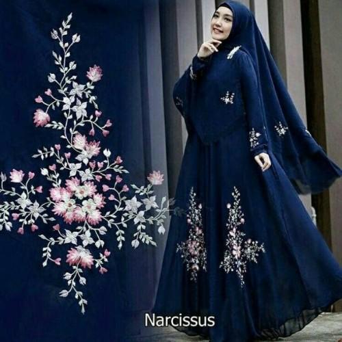 Foto Produk Gamis / Baju Wanita Muslim Narcissus syari dari FERI'S TOKO